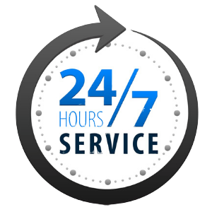 24-7 hour service