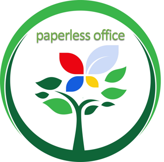 Paperless office go green